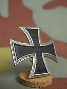 Croce-di-Ferro-I-cl-1914-argento-tedesco-convex-German-WW1-Iron-Cross-1st-class