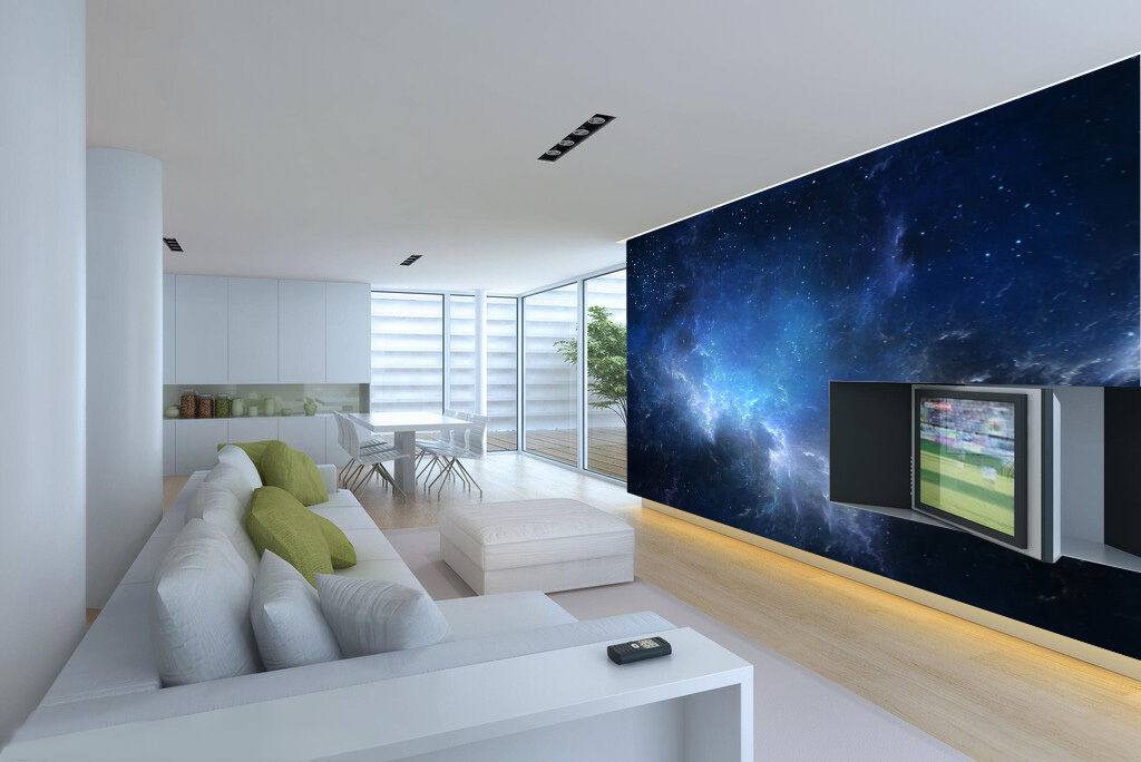 3D Rolling Clouds Starry Sky 26 Wall Paper Wall Print Decal Wall AJ Wall Paper