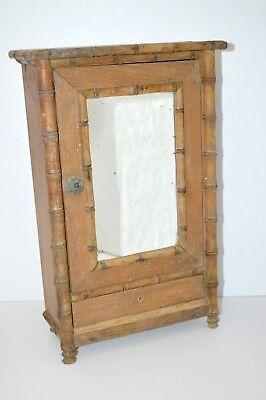1:12 DOLLHOUSE mini meubles cadre européen modèle miroir Vintage 9H