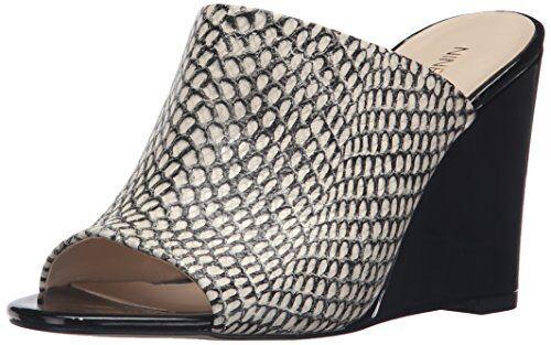 Nine West Womens Felana Leather Wedge Sandal- Pick SZ color.