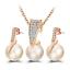 Women-Heart-Pendant-Choker-Chain-Crystal-Rhinestone-Necklace-Earring-Jewelry-Set thumbnail 67