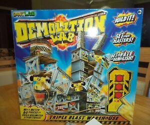 Smart-Lab-Demolition-Lab-Triple-Blast-Warehouse-Complete-Preowned