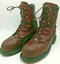 0d184d6628e Red Wing 2414 Size 8 1/2 D Steel Toe Gore Tex Brown