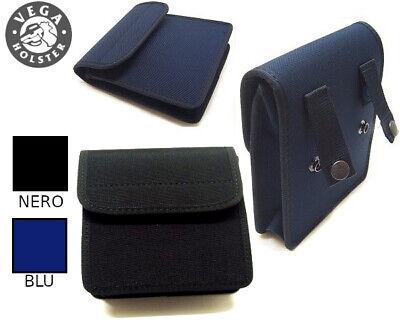 BLU O NERO Borsetta borsa Vega cordura multiuso 2G68 per cinturone Polizia