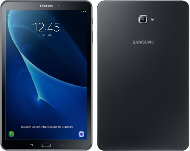 Samsung Galaxy Tab A 10.1 A6 2016 (Edition 2019) mit Android Pie 9.0 - SM-T580