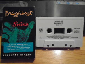 RARE-PROMO-Doughboys-CASSETTE-TAPE-single-Shine-CRUSH-Asexuals-men-without-hats