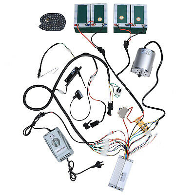 48V 1800W ad Alta Velocità Controller del Motore Go Kart MOTORE ELETTRICO BRUSHLESS DC Kit