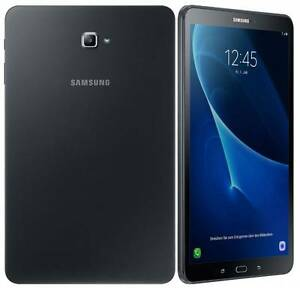 For sale Samsung Galaxy Tab A6 in black, pre-owned in a mint