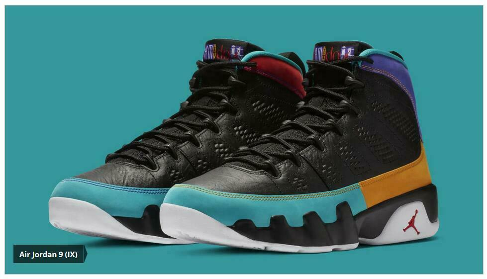Nike Air Jordan Retro IX 9 Dream it Do it Multi PS TD Baby Kid Women Sz 4C-3Y