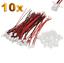 10-Set-20-Stueck-2Pin-2-0-PH-2-0mm-Mini-Micro-JST-Stecker-12cm-Kabel-Buchse Indexbild 1