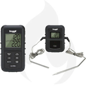 Funk-Grillthermometer-SmokeMax-PRO-2-Fuehler-BBQ-Grill-Thermometer-Smoker