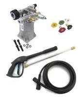 Power Pressure Washer Pump & Spray Kit Coleman Powermate Pw0912400 & .01 .02