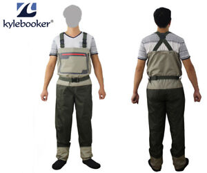 Fly-Fishing-Stocking-Foot-Chest-Waders-Affordable-Breathable-Waterproof-Wader