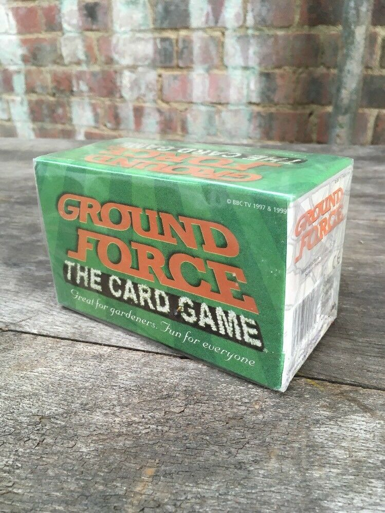 Ground Force The Card Game BBC TV 1997 & 1999 New+Sealed Susan Prescott Games