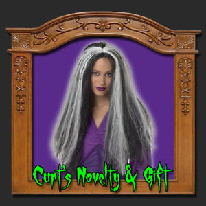 SILVER-STREAKED-WIG-VAMPIRESS-GOTHIC-Costume-Haunted