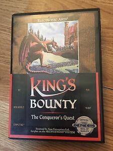 King-039-s-Bounty-The-Conqueror-039-s-Quest-Sega-Genesis-In-Box-Cib-Game