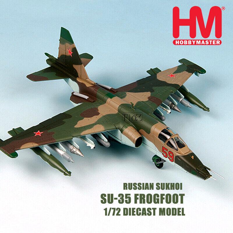 HOBBY MASTER Russian Sukhoi Su-35 Frogfoot 1 72 diecast plane model aircraft