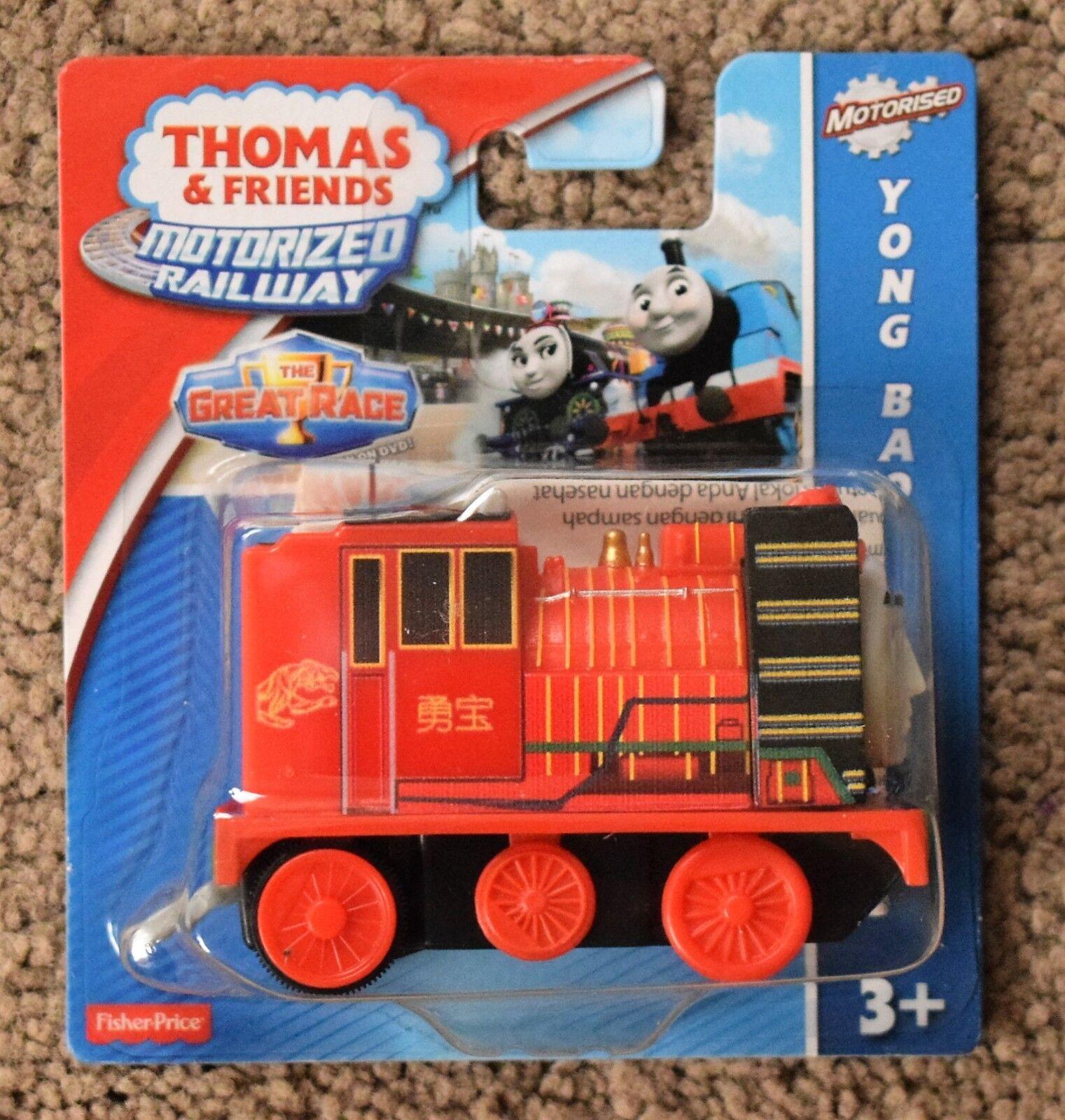 Fisher Price Thomas The Bao Tank Ferrovia Motorizzata Yong Bao The Hiro Toby Salato fde8a4