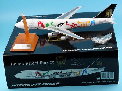 "UPS Boeing 747-200F Reg N521UP  /""Olympic /"""