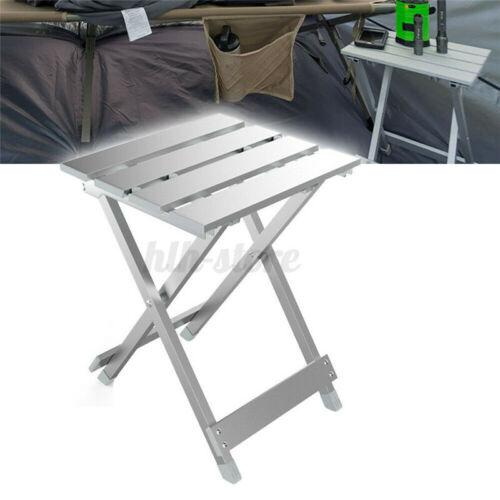 Folding Camping Chair// Stool Lightweight Portable Outdoor Aluminium Frame Sea