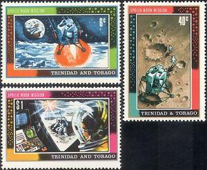 Trinidad-1969-spazio-Apollo-11-atterraggio-sulla-luna-uomo-sulla-luna-razzi-3v-Set-n14486