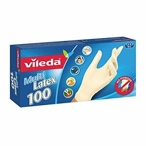 Vileda-Multi-Latex-Einmalhandschuhe-ungepudert-Qualitat-Handschuhe-Groesse-M-L