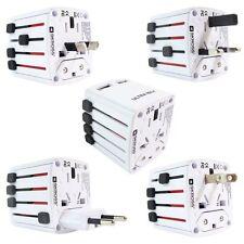 Nuevo 6 Puertos USB Multi Adaptador de viajes pared AC Cargador Con Uk/EU/US/AU Plug Blanco