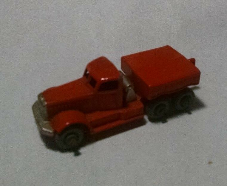 Matchbox Regular Rueda 15 primer motor Naranja 1956