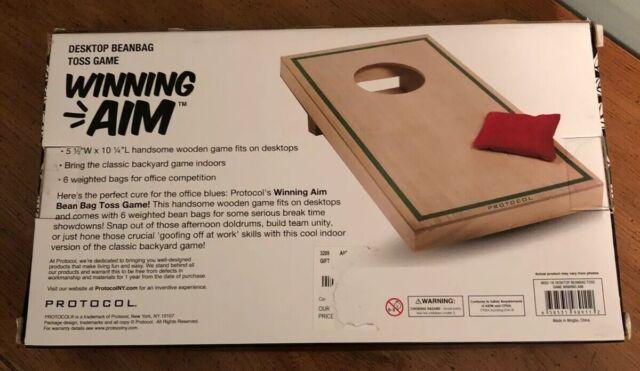 Protocol Desktop Bean Bag Toss Game