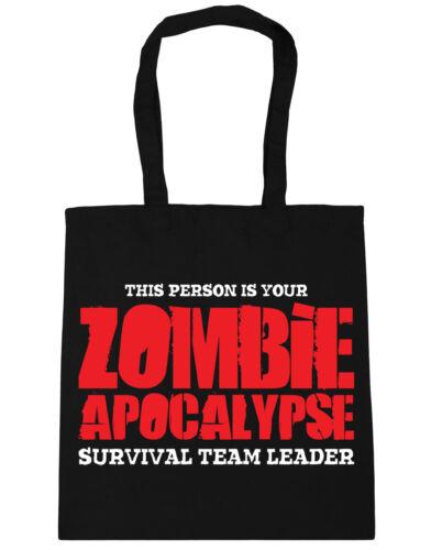 Questa persona è il tuo APOCALISSE ZOMBIE Sopravvivenza Team Leader Tote Shopping palestra BEA