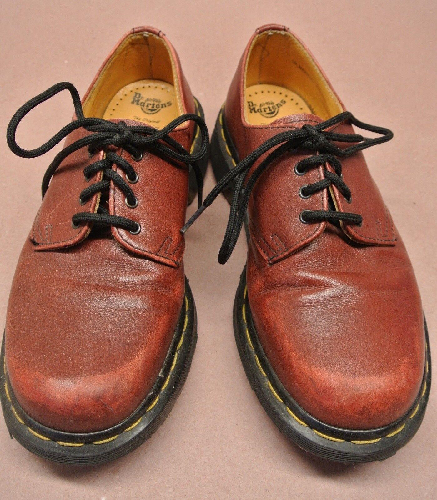 Women's Dr. Martens Oxford shoes Reddish Brown Size 5 UK (7 US)