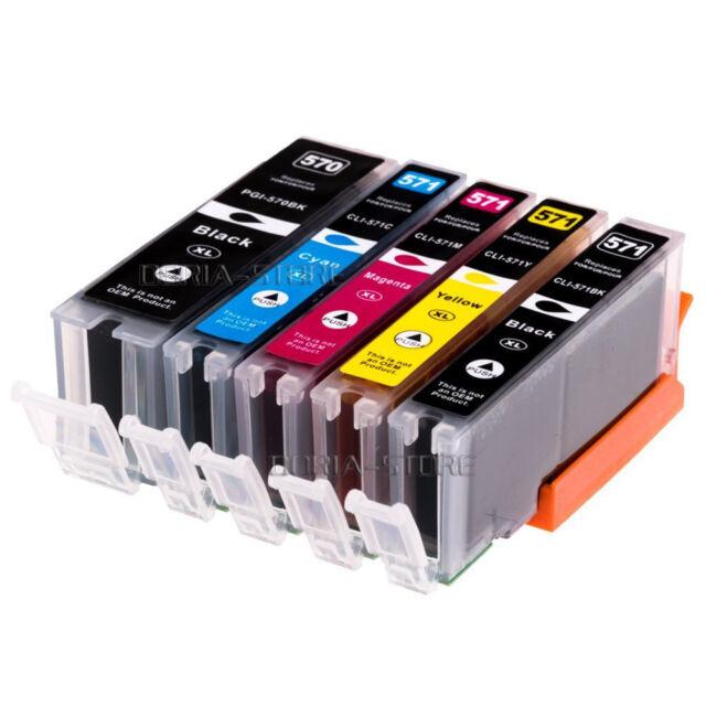 5 XL Druckerpatronen für Canon Pixma MG5750 MG5751 TS5050 MG7750 TS6050 TS8050