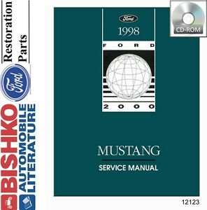 1998 ford mustang shop service repair manual cd engine. Black Bedroom Furniture Sets. Home Design Ideas