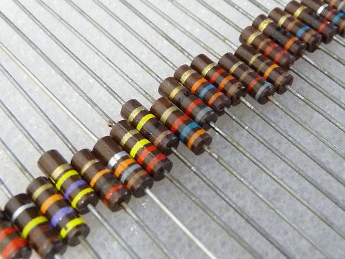 5 résistance carbone 910R 0,5W 5/% carbon comp resistor
