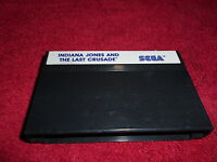 INDIANA JONES AND THE LAST CRUSADE CARTRIDGE ONLY SEGA MASTER SYSTEM