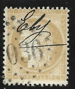 C0566-France-Classique-Ceres-N-59-obl-Manuscrite