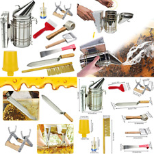 Beekeeping Supplies Tools Kit 10 Pcs For Beekeeper Necessary Bee Hive Supplies B