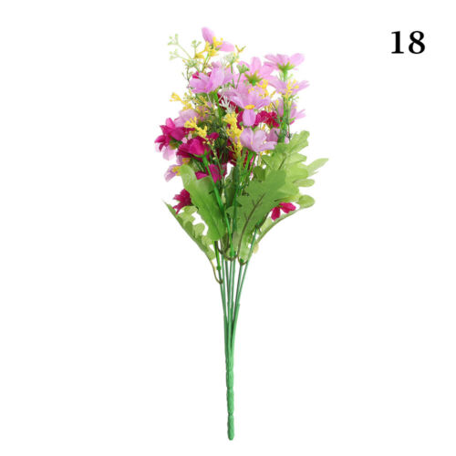 Decorations Party Supplies Camellia Flowers Daisy Artificial Rose Silk Flowers