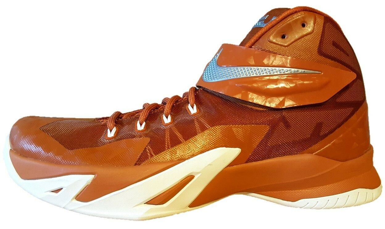 NEW NIKE LEBRON ZOOM SOLDIER VIII sz 12.5 COPPER BROWN Basketball shoes sneaker