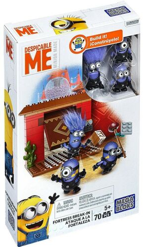 Mega Bloks Despicable Me Minion Made Fortress Break-In Set #25122