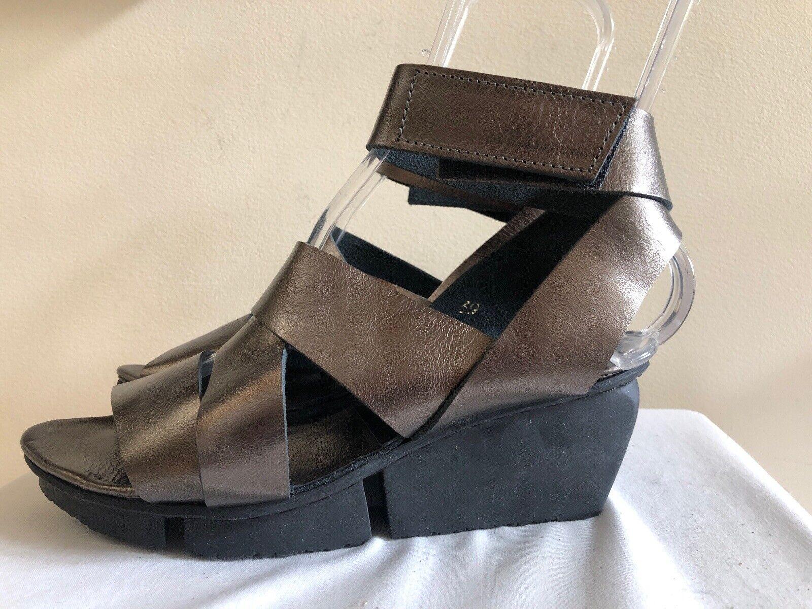 ventas en linea Zapatos Zapatos Zapatos de cuero Trippen 'película F' Sandalias, nos   8   Acero  nuevo sádico
