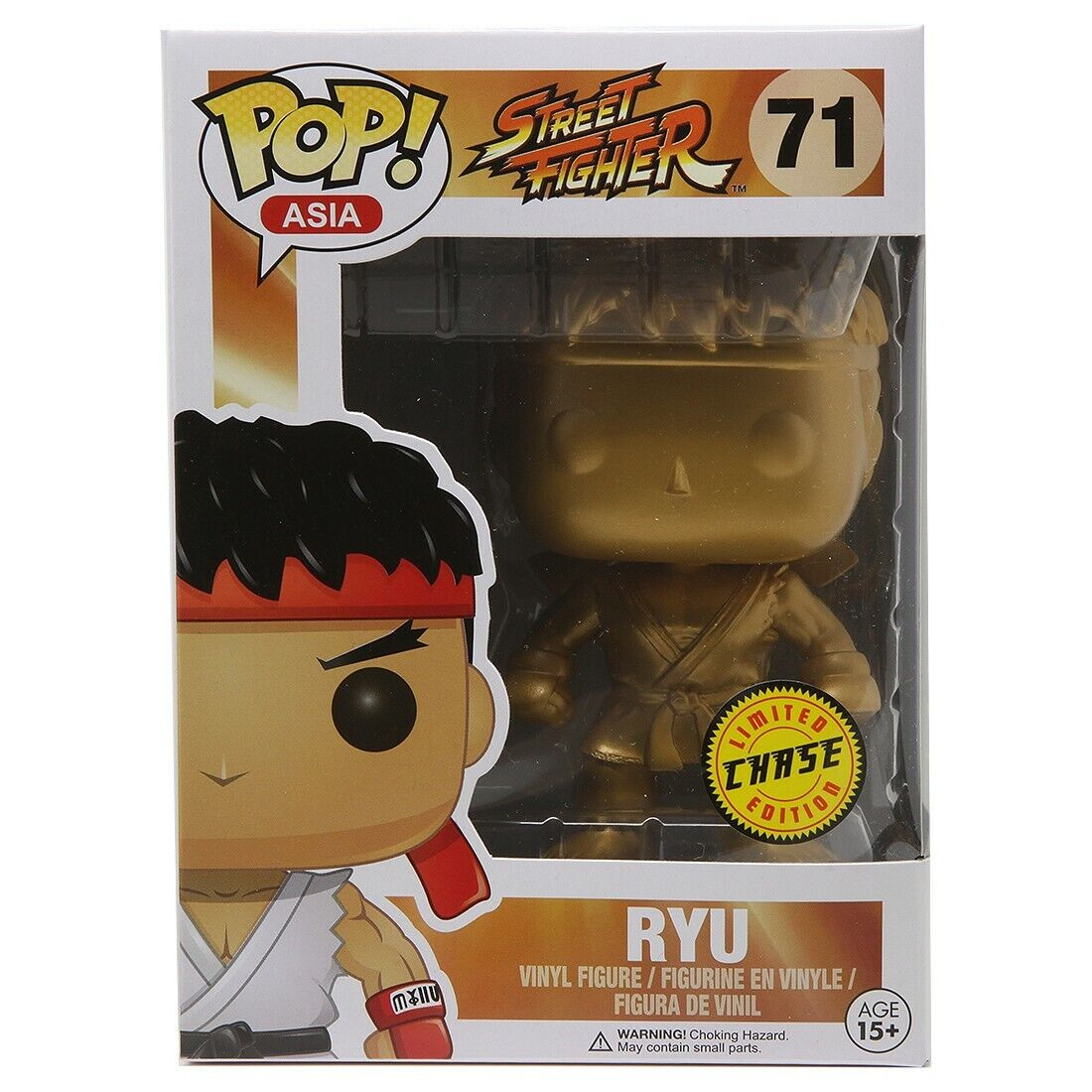 Funko POP Street Fighter or Ryu Chase