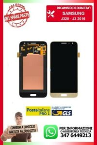 LCD-DISPLAY-VETRO-TOUCH-SCREEN-J3-2016-J320F-SERVICE-PACK-ORIGINALE-SAMSUNG-GOLD