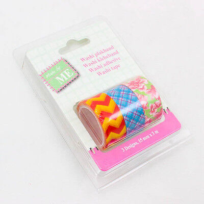 Cute NEW Washi Tape DIY Scrapbooking Adhesive Sticky Decoration 15mm x 3m A0787