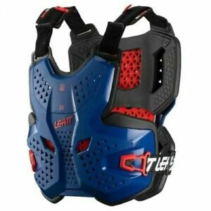 NEW LEATT 3.5 CHEST PROTECTOR ROYAL BLUE ADULT ROOST MOTOCROSS BODY ARMOUR BMX