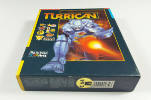 TURRICAN-Commodore-64-DISK-C64-Spiel-CIB-OVP-MINT-Join-our-24h-Auction