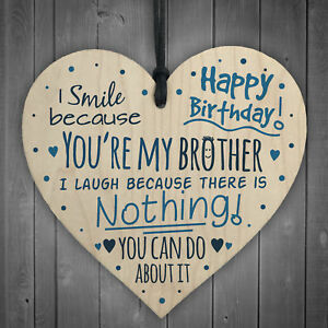 Happy Birthday Heart Brother Sister Mum Dad Funny Cards Baby Family