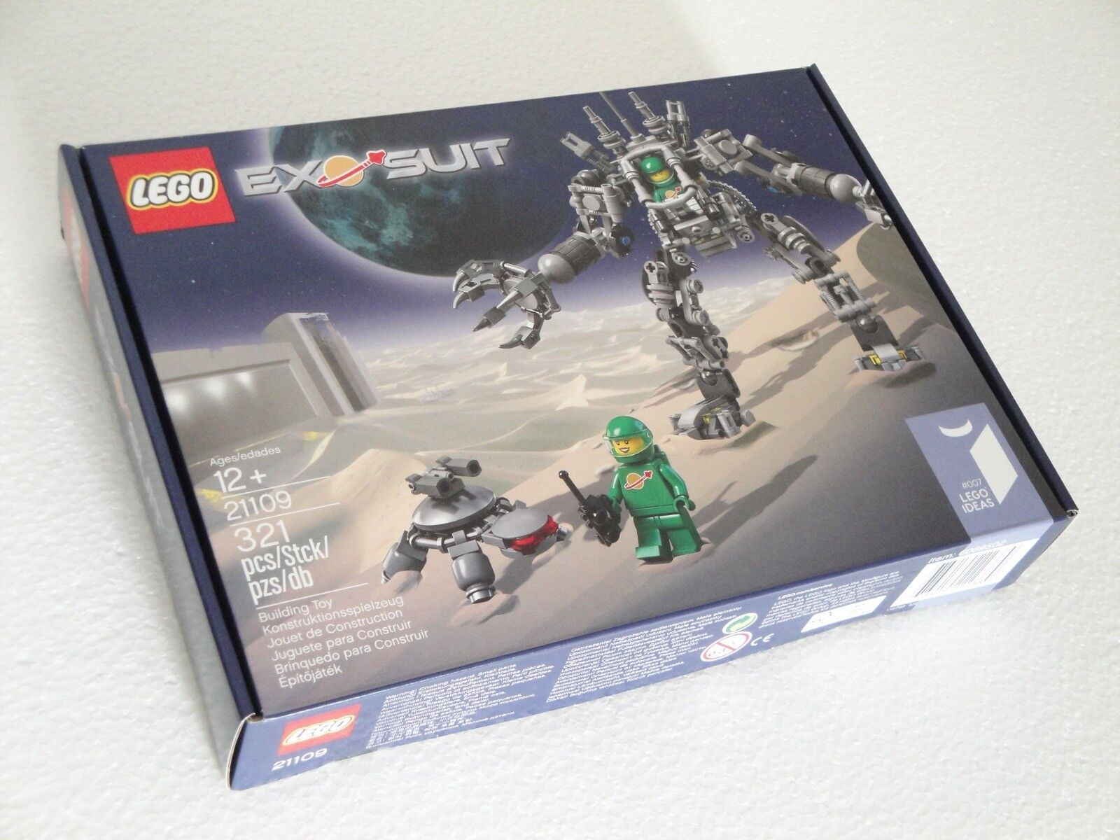 LEGO IDEAS 21109 EXOSUIT SET NUOVO SIGILLATO FUORI PRODUZIONE ULTIMO DISPONIBILE