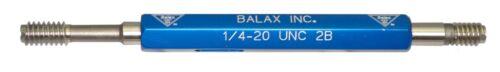 ~ NEW GAGE Inc 1//4-20 UNC-2B ~ Thread Plug Gage ~ Go//NoGo ~ .250 ~ 20 ~ Balax
