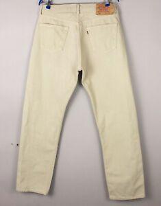 Levi's Strauss & Co Herren 501 Gerades Bein Jeans Größe W36 L32 BCZ999